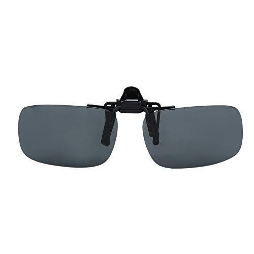 Gafas de sol con clip de visión nocturna con clip para conducción gafas de sol Cool Eyewear Clip en lente anti-UV 400 unisex para mujeres y hombres