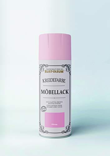 Rust-Oleum Sprühlack 400 ml Altrosa - Premium Möbellack - Ideal für Möbel geeignet - Sprühdose - holzlack - spraydose ? lackspray