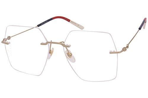 Gucci Brillen Gafas de Vista GG0683O GOLD BLUE 55/16/140 Damen