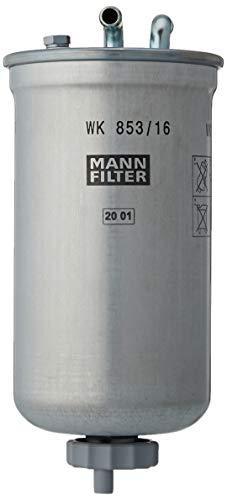 Original MANN-FILTER Filtro de Combustible WK 853/16 – Para automóviles