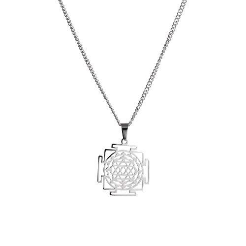 Linda Giese Shri Yantra Amulett Silber