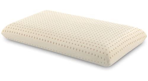 Casatex   Cuscino in 100% Lattice Naturale e rivestimento in 100% Cotone - Biodegradabile,...