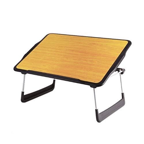 Kiki laptop bureau computer bureau houten vouwen laptop tafel bed leren tekening tafel eenvoudige slaapzaal tabel laptop tafel lage tafel opklaptafel