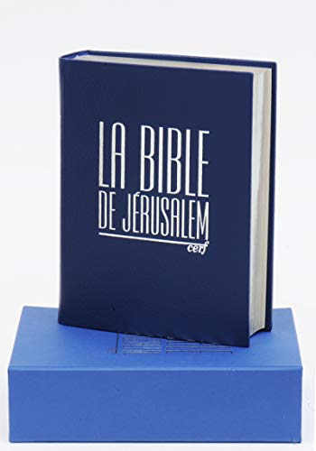 La Bible de Jérusalem - Major cuir bleu