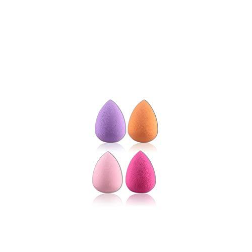 4 pièces/Ensemble de beauté sans défaut Fond de teint liquide Puff éponge Multi-Form-cosmétique,G182