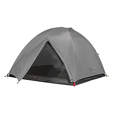 TETON Sports Mountain Ultra Tent; 4 Person Backpacking Dome Tent for Camping; Grey (2008GY)