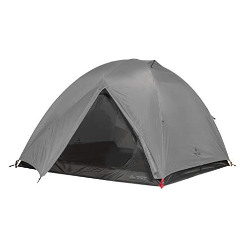 TETON Sports Mountain Ultra Tent; 2 Person Backpacking Dome Tent for Camping; Grey, 2006GY