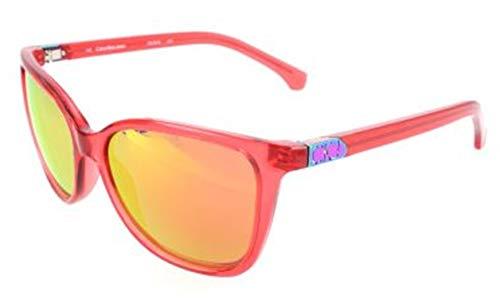 Calvin Klein Jeans Sonnenbrille CKJ761S 619-54-16-140 Gafas de Sol, Rosa (Pink), 54.0 para Mujer