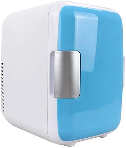 YYhkeby Muebles 4 litros 6 latas Bebidas portátiles Frigorífico, Más frío Calentador Mini refrigerador, para automóviles, Dormir, Oficinas, Casas, Mini refrigerador Compacto Jialele
