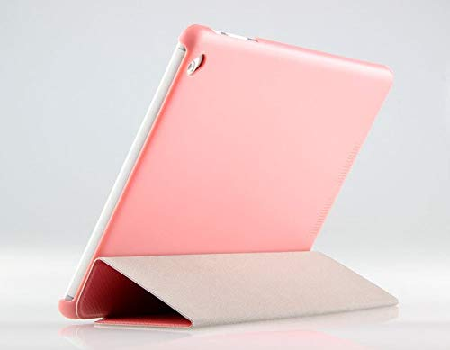 XXIUYHU Ultra Slim 3-Ordner Stand PU Leder Buch Hülle Case Cover für Teclast X98 Air 3G / X98 Pro / X98 Air II / P98 3G / 4G Octa-CorePink