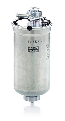 Original MANN-FILTER Filtro de Combustible WK 853/12 – Para automóviles