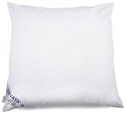 ONVAYA Evolon® Premium Bettwaren | Bettenset in weiß | Bettzeug in verschiedenen Größen (Kopfkissen 80 x 80 cm)