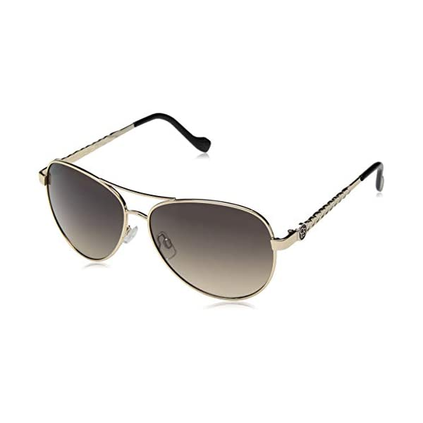 Jessica Simpson J5702 Metal Aviator Sunglasses with 100% UV Protection, 60 mm