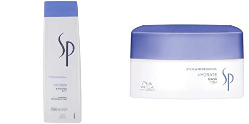 Wella System Professional SP Hydrate Shampoo 250ml & Mask 200 mL Combo Pack