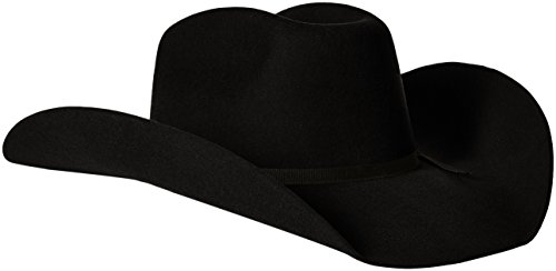 Bailey Western - Sombrero de Vaquero, Hombres, Negro