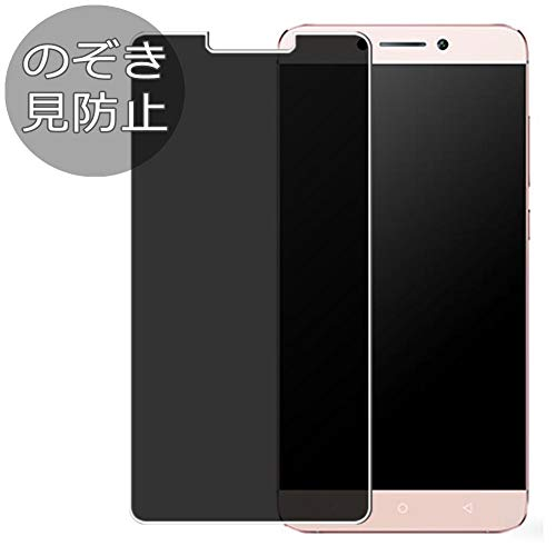 Synvy Privacy Screen Protector Film for LeEco Le Max 2 Pro Anti Spy Protective Protectors [Not Tempered Glass]