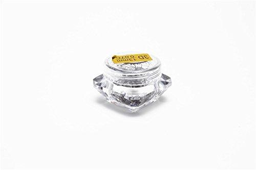 BIG EYE' S SECRET Diamant Boîte Colorée 3D Courte Tige 0.07 Épaisseur C Curl Professionnel Extension de Cils Premade Fans Volume Cils Maquillage Beauté Extension de Cils