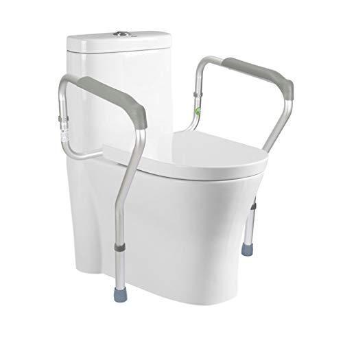 Love lamp Aseo Simple Marco de Seguridad Estable Apoyabrazos WC Independiente Aseo Barandilla de baño Asiento del Inodoro Mujeres de Edad Embarazadas Bastidor Auxiliar