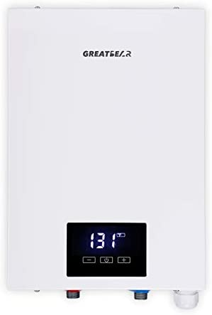 Electric Tankless Water Heater 240V Electric Hot water Heater Self Modulation on Demand Water product image