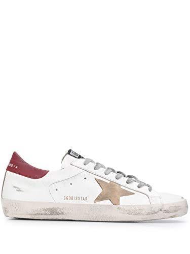 Golden Goose Luxury Fashion Herren GMF00101F00036510288 Weiss Leder Sneakers   Herbst Winter 20