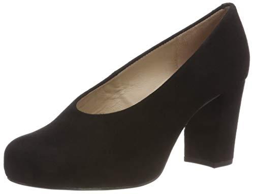 Unisa Nebula_f18_KS, Zapatos de Tacón para Mujer, Negro (Black Black), 40 EU