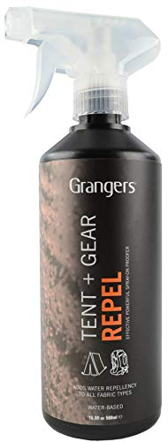 Granger's Tent + Gear Repel / High Performance Tent Waterproofer / 1 ltr / Made in England