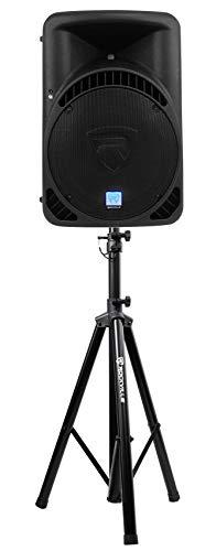 "Rockville RPG15BT 15"" Powered 1000W DJ PA Speaker Bluetooth,Wireless Link+Stand"