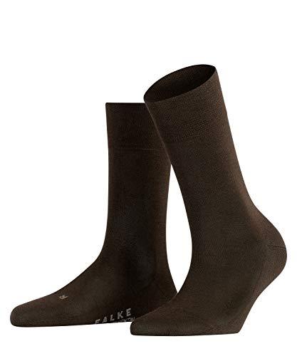 FALKE Damen Sensitive Intercontinental W SO Socken, Braun (Dark Brown 5239), 35-38 (UK 2.5-5 Ι US 5-7.5)