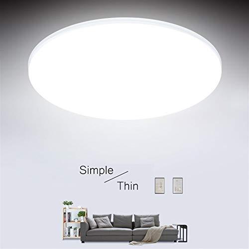 Brillo Alto Ultra Thin techo luces LED 15/20 / 30 / 50W llevada moderna de techo lámparas de iluminación de techo de la sala de estar montados en superficie Led (Body Color : 30W)