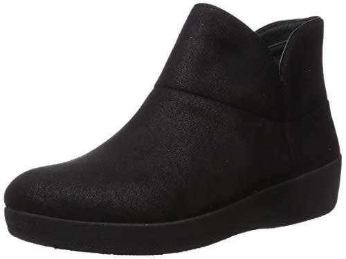 Fitflop Damen Stiefel Valorie, Schwarz (schwarz), 38.5 EU