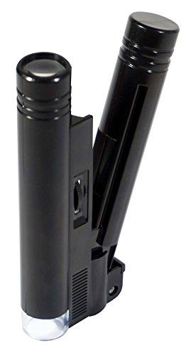 SE Illuminated LED Pocket Microscope with 20X Magnification - MW10083