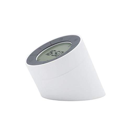 Gingko Edge Lichtmelder mit bewegungsaktivierten Modi und weichem dimmbarem Umgebungslicht, wiederaufladbar mit USB-Adapter-Blei, Weiß