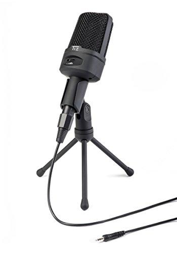 Tie Studio–Broadcast Micrófono de condensador Incluye Tripod