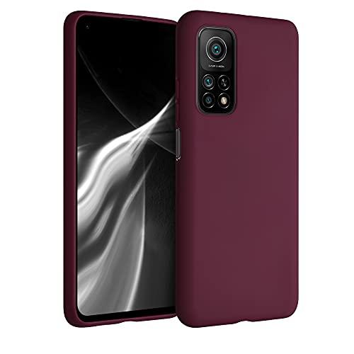 kwmobile Hülle für Xiaomi Mi 10T / Mi 10T Pro - Handyhülle - Handy Hülle in Bordeaux Violett