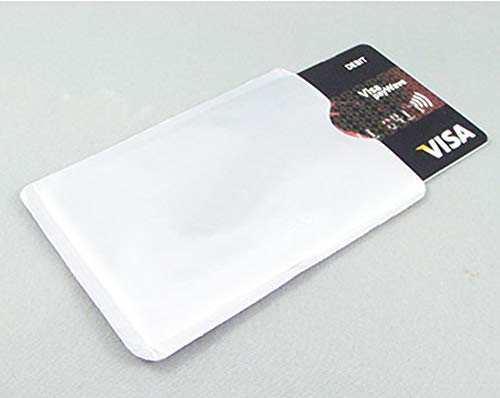 「スーツケースカンパニー」GPTスキミング 防止RFIDクレジットカードケース (カードサイズ) 薄い 薄型 防犯 アウトレット 無地シルバー