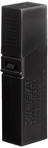 Olfa 115303 Cuchilla Cutter troceable Excel Black 100x18mm, Negro, Set de 50 Piezas