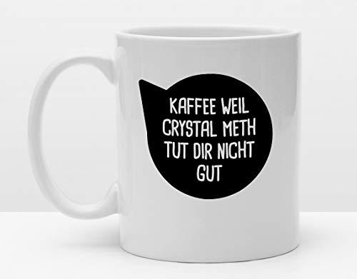 Lustige Tasse | Lieber Kaffee | Cooler Becher | Kaffeetasse | Bedruckt mit Motiv | Spruchtasse | Kaffeesüchtig | Koffeinjunkie | Handmade
