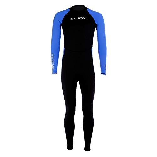 Bulary Muta in Neoprene Sunblock per Lo Snorkeling/Immersioni/Surf/Nuoto, Protezione Solare di Un Pezzo Uomo Tenere al Caldo Tuta Subacquea Completo Corpo Costume da Bagno Lo Snorkeling