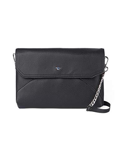 TOM TAILOR Damen Taschen & Geldbörsen Clutch Vittoria schwarz/Black,OneSize