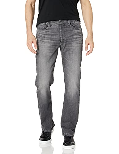 Levi's Men's 514 Straight Fit Jeans, Morel Light Mid Overt, 28W x 30L