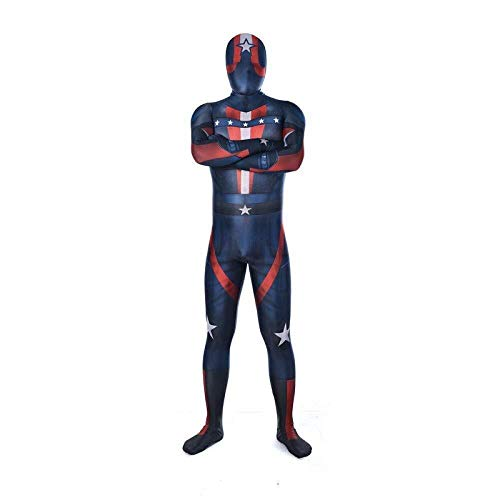 Hcxbb-b Superman Kostuum - Halloween rol spelen Masquerade Party Kostuum PS4 Stretch Tights