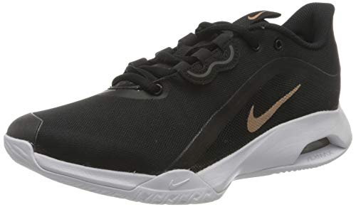 Nike Air Max Volley damskie buty do tenisa, Black Metallic Red Bronze White - 36.5 EU