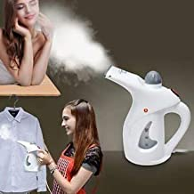 Wazdorf Steamer For facial Handheld Garment Steamer For Clothes Portable Family Fabric Steam Brush, Facial Steamer, Facial Steamer For Face And Nose, Steamer For Cold And Cough, (Multicolour)