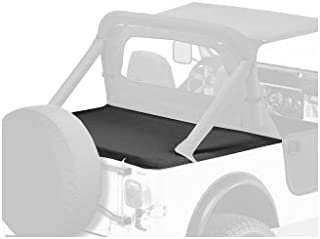 Bestop 90005-01 Black Crush Duster Deck Cover for 1980-1991 CJ7/Wrangler with Hardtop Removed (Includes New Tailgate bar, Retainer Clips)