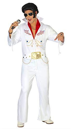 FIESTAS GUIRCA Disfraz Hombre Rey del Rock Extra Talla l