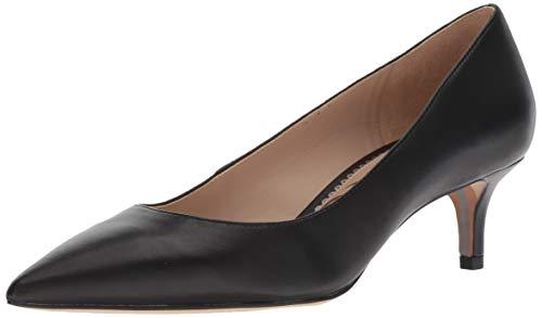 Sam Edelman Women's Classic Dori Pump, Black Leather, 6.5 Medium US