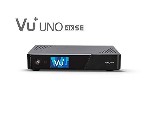 VU+ Uno 4K SE  1x DVB-T2 Dual Tuner Linux Receiver UHD 2160p