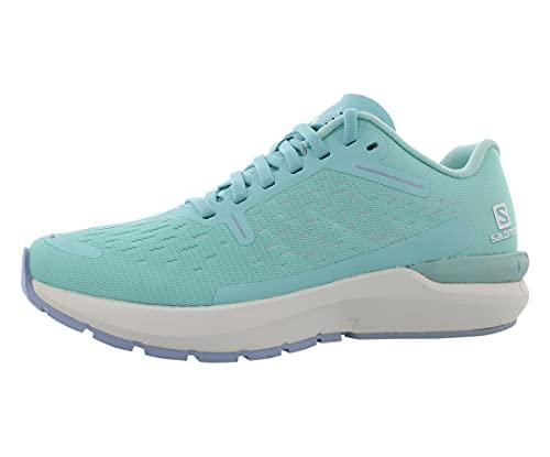 Salomon Women's Sonic 4 Balance W Running, Tanager Turquoise/White/Kentucky Blue, 8