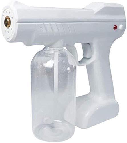 EW&HU Désinfection Portable Bouteille de Vaporisateur Bleu Clair Nano Pistolet à Vapeur Spray Machine Nano Soins de Cheveux Supprimer frisotz réparation Paille cutanée Spa Humidificateur