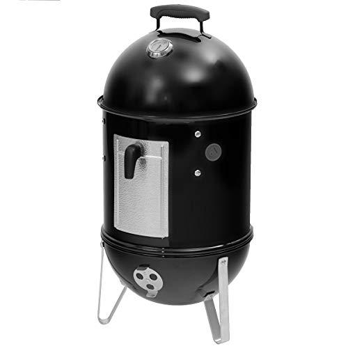 Weber 711004 Smokey Mountain Cooker/Barbecue à Charbon Noir 37 cm